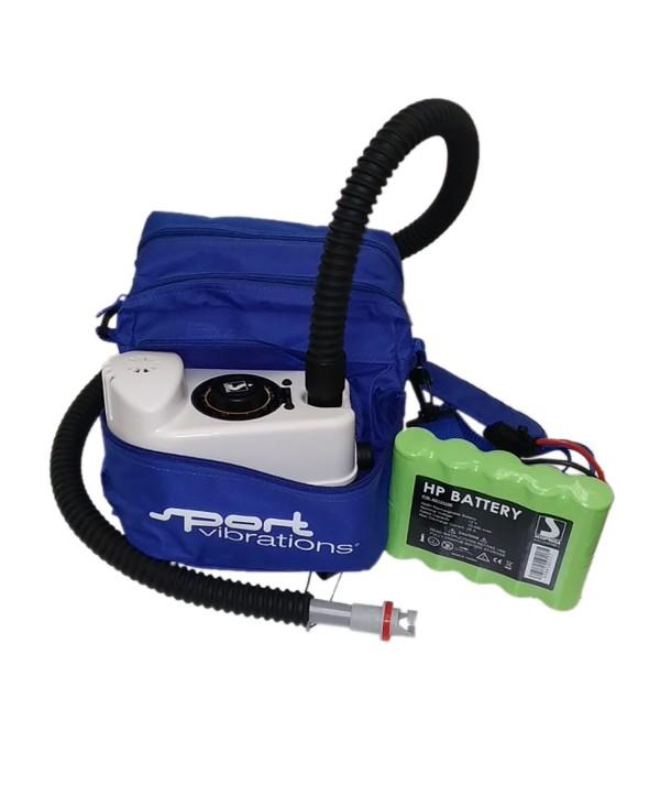 Sport-Vibrations®  SUP Kompressorpumpe Power Ni/mh Akku BP 12