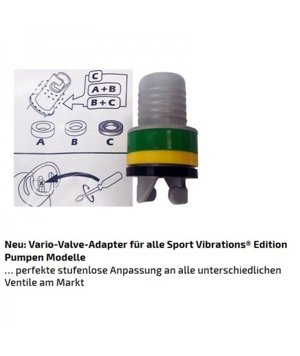 Sport-Vibrations® SUP Turbinen-Kompressor-Pumpe Blei-Akku BTP 12