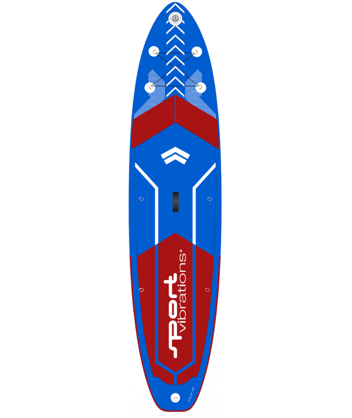 Sport-Vibrations All-Terrain Allround-Touring 11'5 SUP