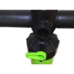 SUPwave® SUP -4 Doppel/Einfachhub Handpumpe