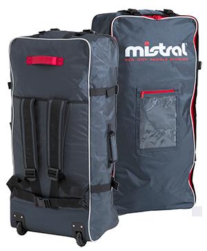 Mistral Travel Bag mit Rollen und seitlicher Paddel-Halterung